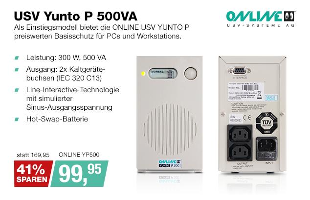 Artikel: ONLINE YP500; EUR 99.95