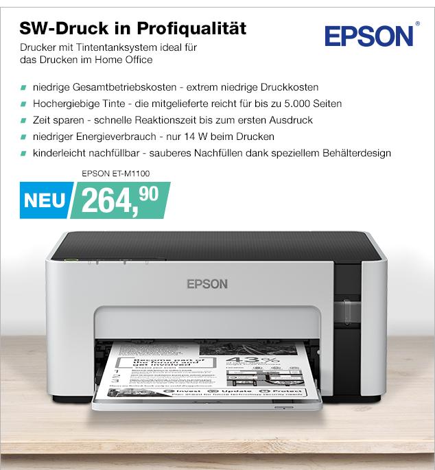 Artikel: EPSON ET-M1100; EUR 269.00