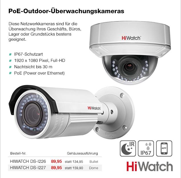 Artikel: HIWATCH DS-I226; EUR 71.95
