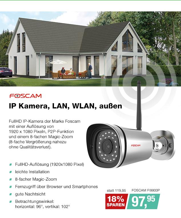 Artikel: FOSCAM FI9900P; EUR 94.95