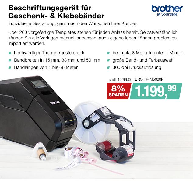 Artikel: BRO TP-M5000N; EUR 1199.99