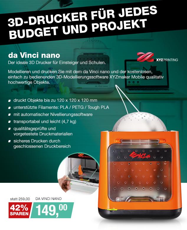 Artikel: DA VINCI NANO; EUR 149.00