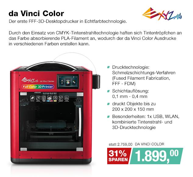 Artikel: DA VINCI COLOR; EUR 1699.00