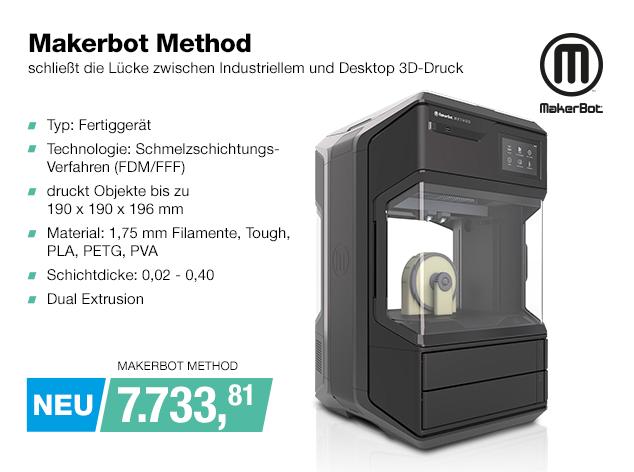 Artikel: MAKERBOT METHOD; EUR 7729.00