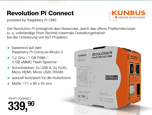 Artikel: REVPI CONNECT; EUR 339.90