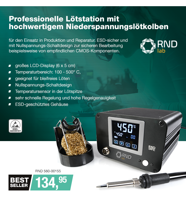 Artikel: RND 560-00155; EUR 134.95