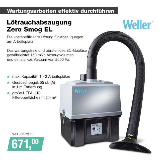 Artikel: WELLER ZS EL; EUR 671.00