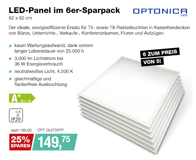 Artikel: OPT DL2735PP; EUR 149.75