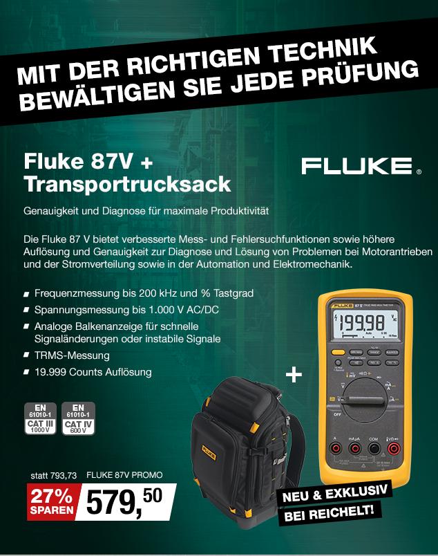 Artikel: FLUKE 87V PROMO; EUR 579.50