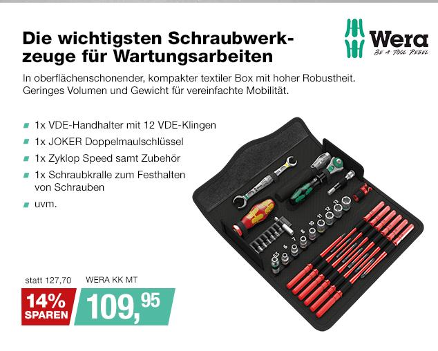 Artikel: WERA KK MT; EUR 109.95