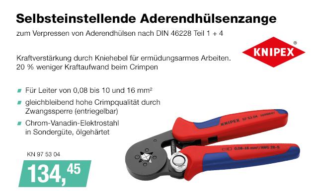 Artikel: KN 97 53 04; EUR 134.45