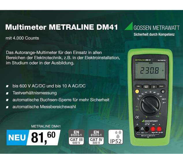 Artikel: METRALINE DM41; EUR 81.60