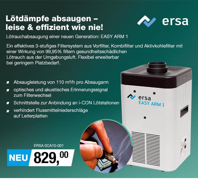 Artikel: ERSA 0CA10-001; EUR 829.00