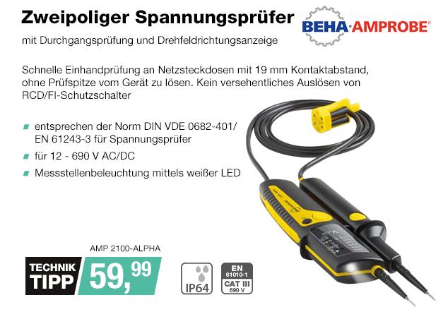 Artikel: AMP 2100-ALPHA; EUR 59.99