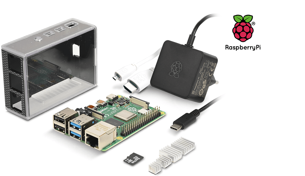 Das reichelt Raspberry PI 4 B 4 GB All-In-Bundle