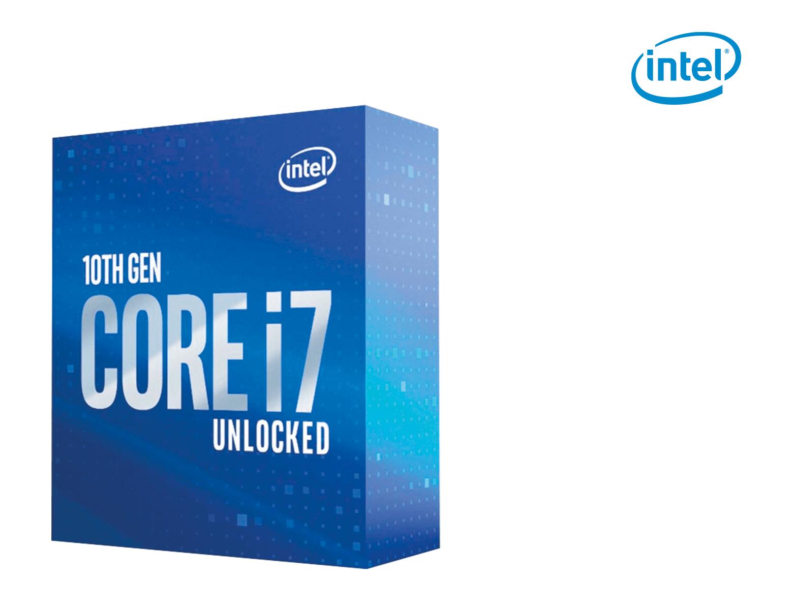 Intel Core i7-10700K, 8x 3.80GHz, boxed, 1200