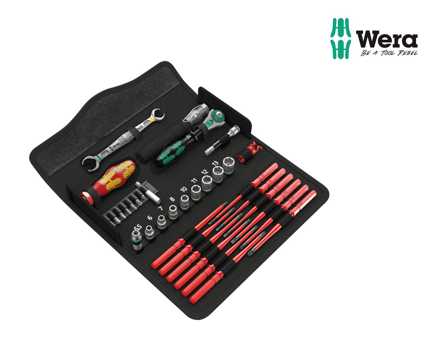 Werkzeugsatz, Schraubset, Wartung W1, 35-teilig