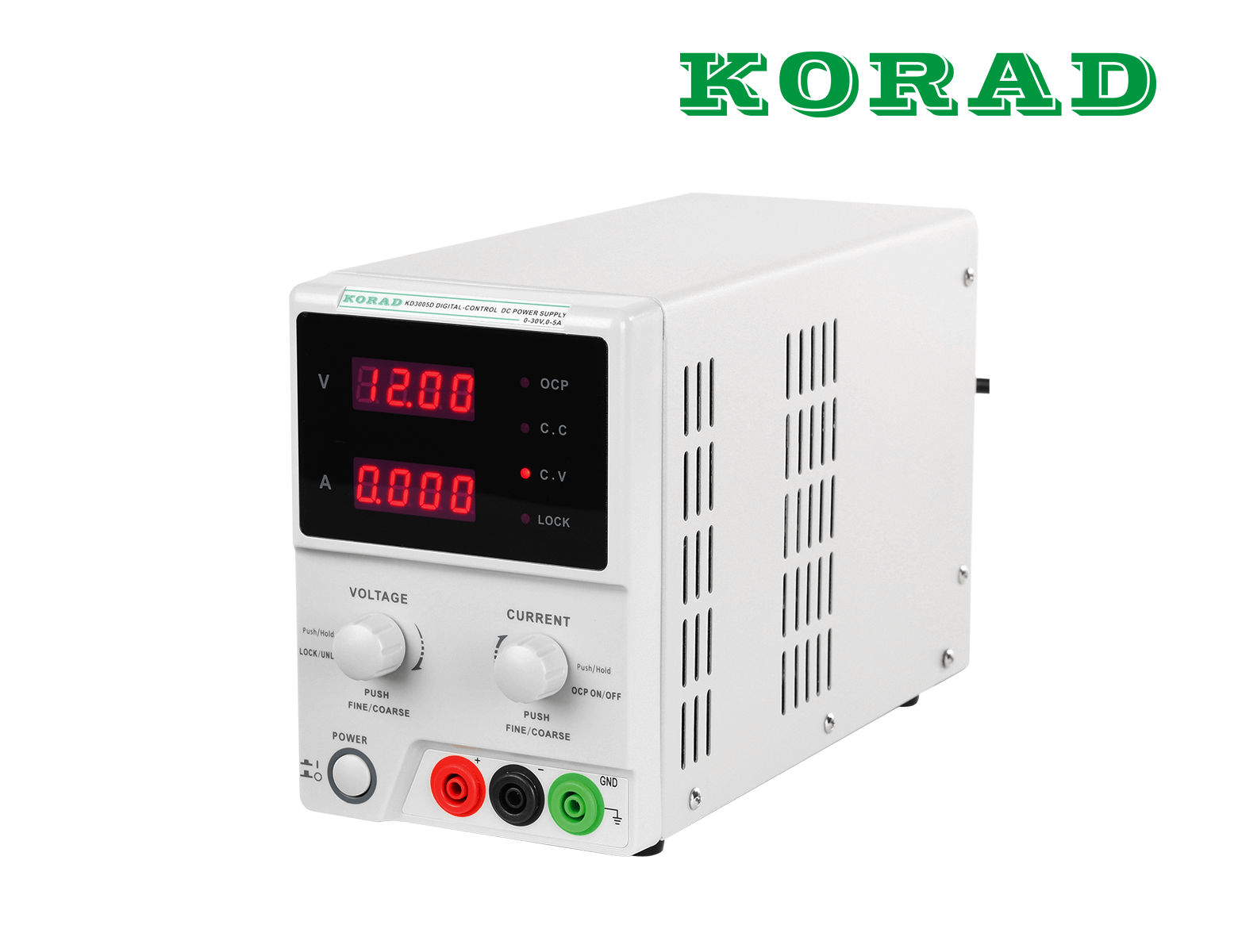 Labornetzgerät, 0 - 30 V, 0 - 5 A, stabilisiert