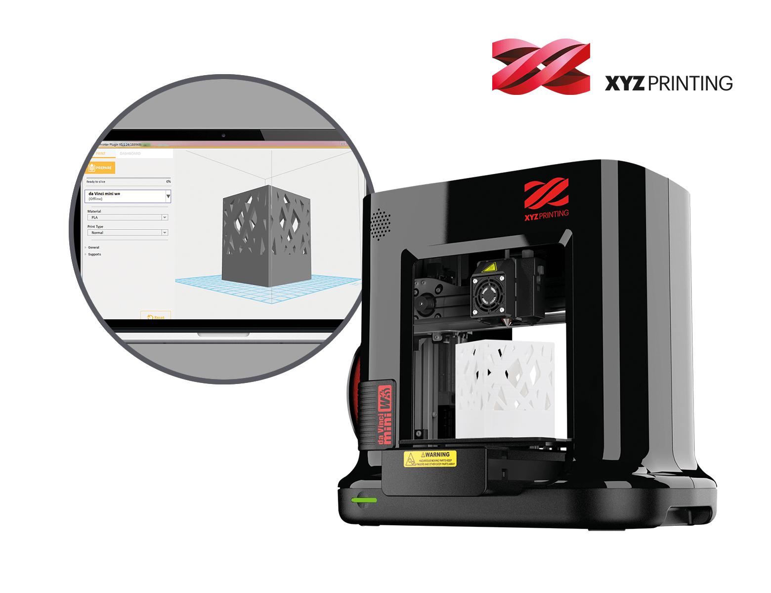 3D Drucker, da Vinci Mini W+