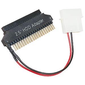 2,5er >3,5er Adapter, 44>40-polig inkl. Stromvers. GOOBAY 93031