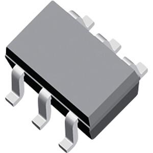 Transistor SOT-363-6 NPN/PNP 50 V NXP PUMD2