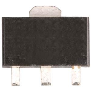 SMD NPN transistor, SOT-89, 80V, 1A, 1.3W FREI