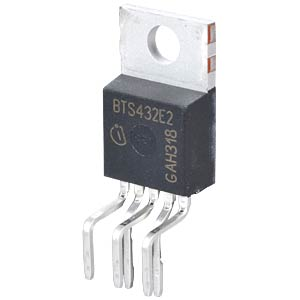 High-Side-Sw. 63V >9A TO220-5 INFINEON BTS432E2
