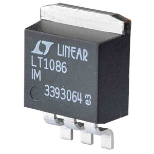 Voltage regulator, low dropout, DDPAK-3 LINEAR TECHNOLOGY LT1086IM#PBF