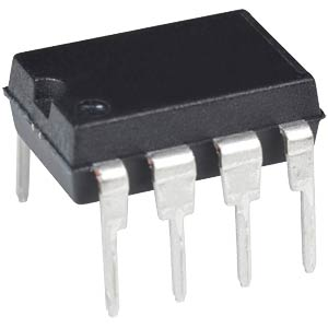 Digital Potentiometer,257 steps,1-Kanal,SPI,DIP-8 MICROCHIP MCP4151-104E/P