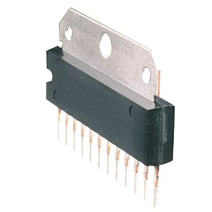 Operational amplifier, analogue, H-SIL-12 RENESAS UPC1270H