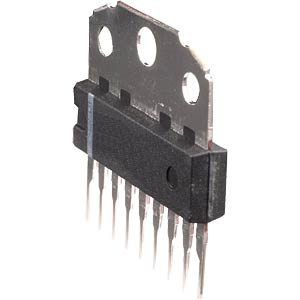Operational amplifier, dual, high-output, HSIL-15 ROHM BA5417
