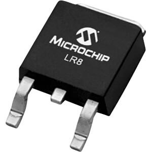 Spannungsregler, einstellbar, 1,2 ... 438 V, DPAK MICROCHIP LR8K4-G