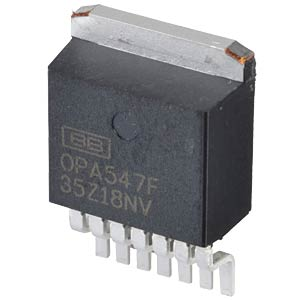 OpAmp, Single, 1MHz, DDPAK-7 TEXAS INSTRUMENTS OPA547FKTWT