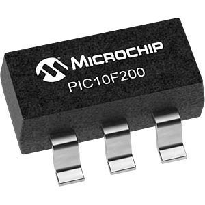 PIC controller SOT-23-6, strapped MICROCHIP PIC10F200T-I/OT