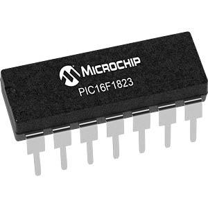 Microcontroller 8 Bit DIL-14 MICROCHIP PIC16F1823-I/P