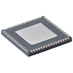Flash Microcontroller, 16-Bit, QFN-64 MICROCHIP PIC24FJ128GC006-I/MR
