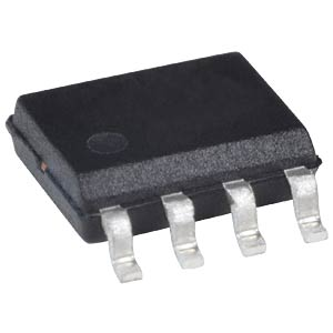 D/A converter, 12-bit, SO-8 TEXAS INSTRUMENTS DAC7612U
