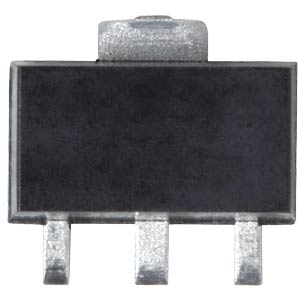 Voltage regulator, -5 V, 0.1 A, SOT89 TAIWAN-SEMICONDUCTORS TS79L05CY