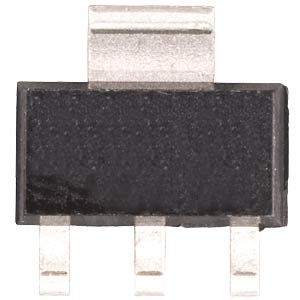 PSRR voltage regulator, 3.3 V, SOT-223-3 MICROCHIP MCP1755S-5002E/D