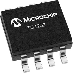 Microprocessor monitoring IC, 4.5/4.75V, SO-8 MICROCHIP TC1232COA
