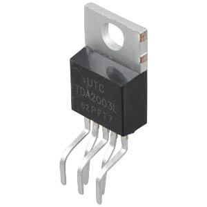 TDA 2003 - Amplifier, Pentawatt-5