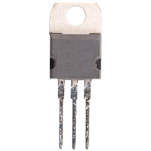 Voltage regulator, +5.0 V, 1 A, TO-220 FREI
