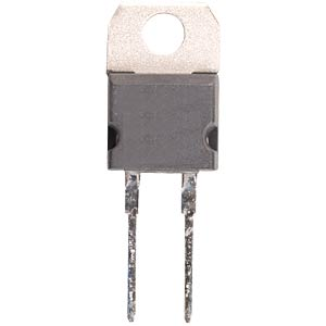 Thick-film resistor, 50 W, TO220 — 22 ohm, 5% VISHAY RTO50FE022