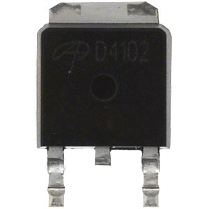 LDO V regulator, +3.3 V, 0.5 A, TO252 TAIWAN-SEMICONDUCTORS TS2937CP-3.3