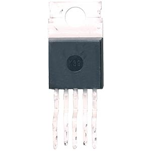 Voltage regulator, 1 A, 3.3 V, 45 VS, TO-220-05 FREI