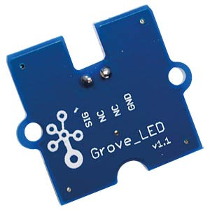 Arduino - Grove LED, 3 mm, lila SEEED 104020002
