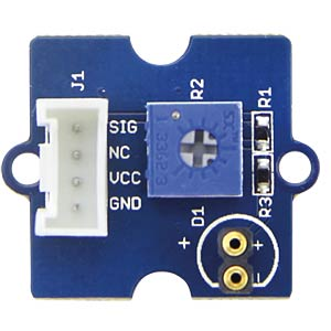 Arduino - Grove LED, 5 mm, grün SEEED 104030007