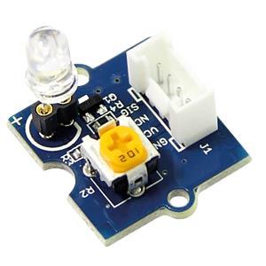 Arduino - Grove LED, 5 mm, weiß SEEED 104030009
