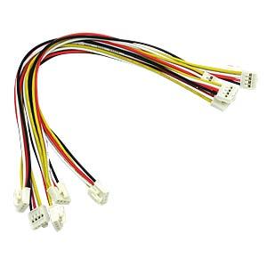 Arduino - Grove Universal-Kabel, 4-Pin, 20cm, fixiert (5er-Pack) SEEED 110990027