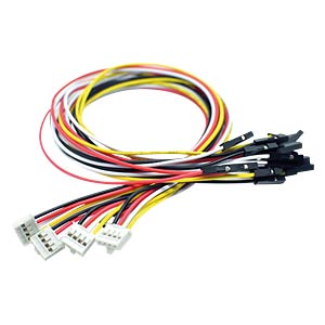 Arduino - Grove 4-Pin Female Jumper zu Grove 4-Pin (5er-Pack) SEEED 110990028